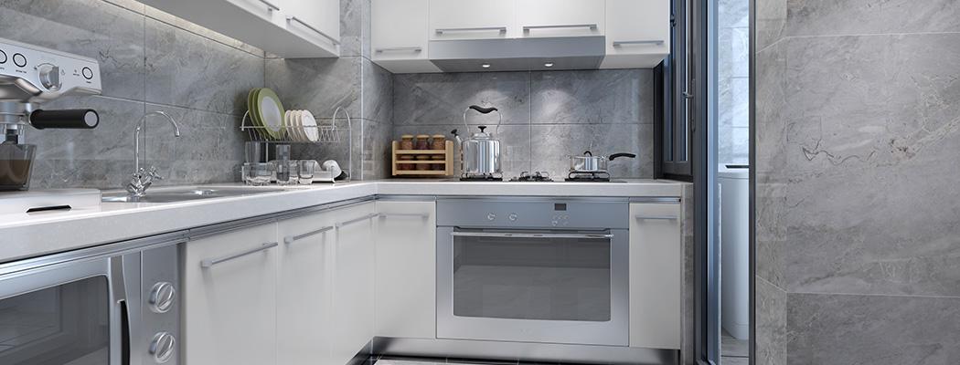 欧式厨房砖效果图大全